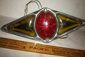 Vintage Antique Teleoptic Right Left Turn Signal Brake Light