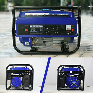 3000watt Gasoline Generator Electric Start Fuel Portable Inverter Generator