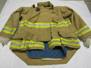 Size 46 Morning Pride Fire Fighter Turnout Jacket 2008 Vgc 7