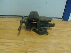 Vintage Littlestown No 140 Bench Vise 4 Jaws Opens 4 Inches