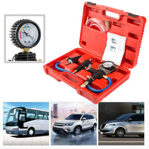 Radiator Pressure Tester Vacuum Type Cooling System Refill Tool Set With Case