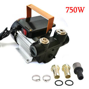 110v 750watts 16gpm Commercial Electric Oil Pump Self Priming Transfer Fuel Fast