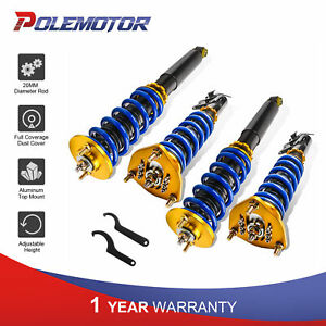 Full Coilover Strut Suspension Kit For 89 94 Nissan S13 240sx 24 Ways Adj height