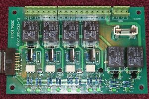 Pls Exactbind Bookbinder Motor Control Relay Board Zl zxj out pcb Works nos