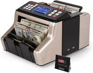 Bill Money Counter Cash Currency Count Counting Automatic Bank Machine Uv mg