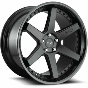Niche M192 Altair 20x9 20x10 5 5x114 3 35 30 Black Black Wheels 4 72 56 20 Inc