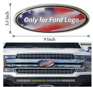 2005 2014 For Ford F150 Front Grille Tailgate 9 Inch Oval Emblem Color