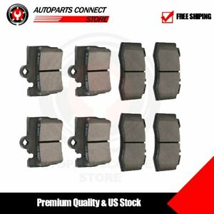 Rear Front Premium Ceramic Disc Brake Pads For 2000 2002 Mercedes benz S430