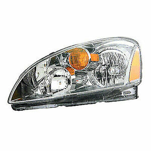 2002 2004 For Nissan Altima Lh Left Driver Side Headlight New