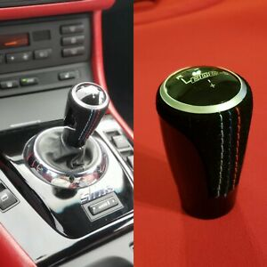 Tri Stitched Weighted Smg Shift Knob 01 06 Bmw E46 M3