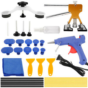 Auto Paintless Dent Repair Kit Car Dent Puller Removal Dent Remover Kit Usa