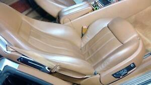 04 10 Bentley Continental Gt Passenger Right Front Heated Seat Saddle Oem