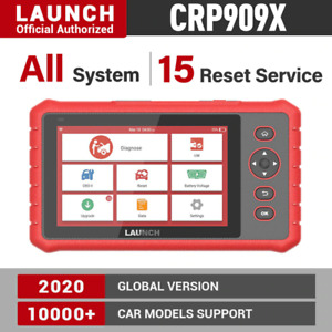 Launch X431 Crp909 X Car Diagnostic Tool Automotive Scanner Obd Obdii Auto Scan