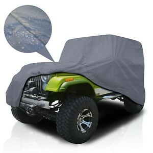 Psd Supreme Full Suv Car Cover For 1976 1987 Jeep Cj 7 Waterproof Uv Protection