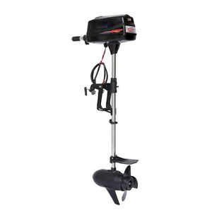 Hangkai 7 hp Brushless Electric Boat Outboard Motor Engine Tiller Control 1800w