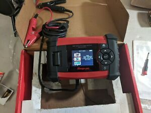 Snap On Advanced Battery System Tester W Printer Eecs750 39755