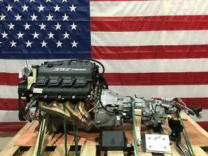 13 15 Dodge 6 4l 392 Hemi V8 Engine Tr6060 6 Speed Manual Transmission Swap