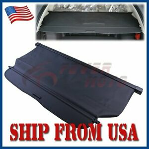 Us Fit For 2012 2016 Honda Crv Rear Trunk Cargo Cover Shade Shielding Black Fm