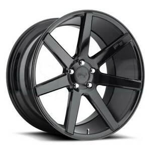 Niche M168 Verona 19x8 5 5x120 35 Gloss Black Wheels 4 72 56 19 Inch Rims