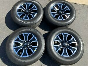 Four 2020 Toyota Tacoma Factory 17 Wheels Tires Oem Rims 4runner Toyo 75259