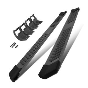 For 15 20 Ford F150 Nerf Bar Running Boards 6 Side Step Super Crew Cab Black