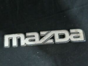 Mazda Car Emblem Badge Plastic Vtg Oem