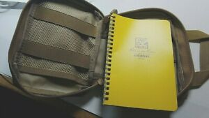 Rite In The Rain Weatherproof Soft Cover Notebook Yellow Camo Case o Neg Patch
