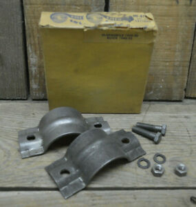 Vintage Nos 1939 53 Oldsmobile Buick Muffler Clamp Usa Old Exhaust Parts Oem 88