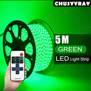 Under Car Led Strip Bar Underbody Underglow Glow Green Light Auto Accessories
