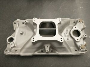 Edelbrock Weiand Intake Manifold For Small Block Chevy