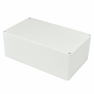 Electronic Abs Plastic Junction Project Box Enclosure white