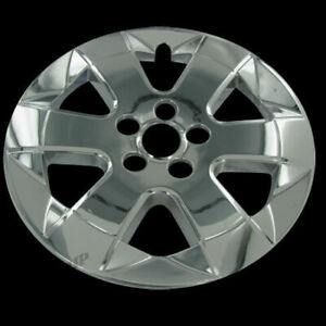 For 04 09 Toyota Prius 15 Chrome Wheel Skin Cover Replacement Hub Caps Set Of 4