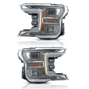 Free Shipping To Pr For 18 20 Ford F150 Full Led Reflector Sequential Headlights
