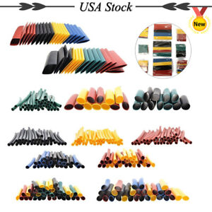 328pc 2 1 Color Heat Shrink Wire Sleeve Wrap Wire Cable Assortment Shrinkable