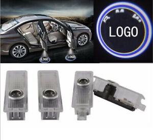 2 X Logo Door Courtesy Led Light Shadow Laser Projector For Bmw 3 5 6 7 Series