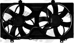 Engine Cooling Fan Assembly Fits 2010 2011 Chevrolet Camaro Global Parts