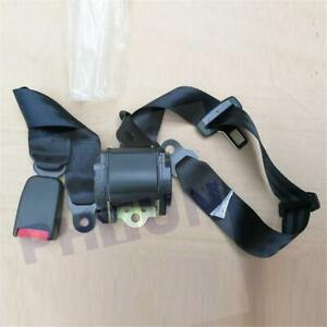 3 Point Retractable Auto Car Safety Seat Belt Lap Shoulder Adujstable Harness Us
