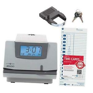 Pyramid 3500 Multi purpose Time Clock And Document Stamp Manual Alignment
