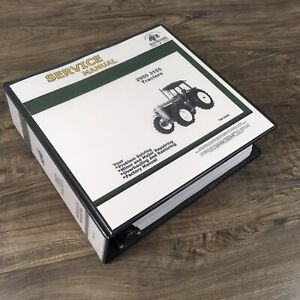 Service Manual For John Deere 2955 3155 Tractors Repair Shop Technical Book