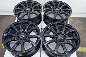 16 Black Wheels Rims Vw Beetle Camry Impreza Civic Corolla Scion Xb Cobalt Cx 3
