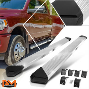 For 09 20 Dodge Ram 1500 3500 Crew Cab 6 Pleated Step Nerf Bar Running Boards