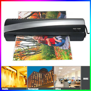 A4 9 Photo Paper Hot And Cold Thermal Laminator Machine 3 5min Laminating X9j9