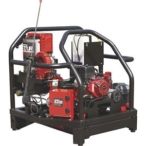Northstar Proshot Hot Water Commercial Pressure Washer Skid 3000 Psi 4 0 Gpm