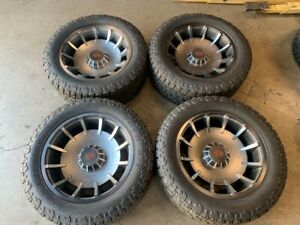 2020 Ford F150 Raptor Harley Davidson Factory 22 Wheels Tires Requires 4 Lift