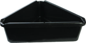 Midwest Can Triangle Oil Fluid Change Drain Pan 7 5 Quart Capacity 14 X 14 X 5