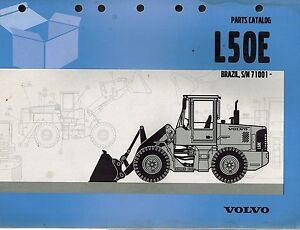 Volvo L50e Wheel Loader Parts Manual With Extras