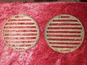 1936 Ford Slotted Grill Horn Cover Vents