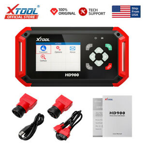 Xtool Hd900 Heavy Duty Diesel Truck Auto Fault Code Reader Diagnostic Scanner