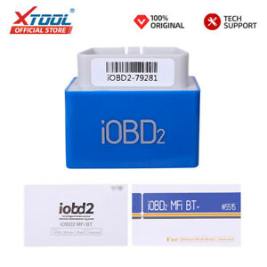 Xtool Iobd2 Mfi Bt Auto Diagnostic Car Fault Code Reader Scanner Android Ios