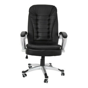High Back Office Chair Heavy Duty Gaming Racing Computer Desk Seat Swivel Adjust